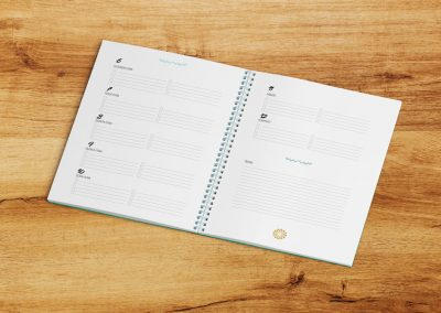 Agenda e Calendário 2020 para anotares os pontos altos de cada Semana/Mês e registares os teus Sucessos.
