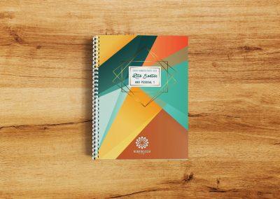 Diário Numerológico 2020 - Capa Resistente e Personalizável com o teu Nome.
