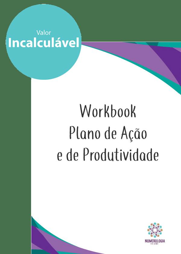 Workbook - Plano de Ação e de Produtividade