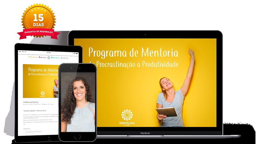 Numerologia-na-Vida--Programa de Mentoria da Procrastinação à Produtividade